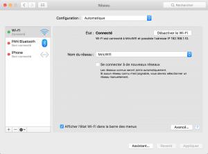 trouver IP mac