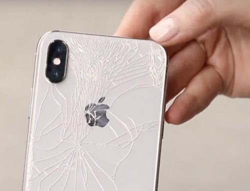 Réparation / remplacement de vitre arrière iPhone X