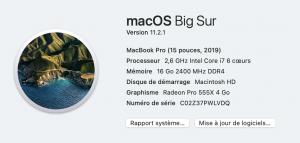 trouver numero de serie mac