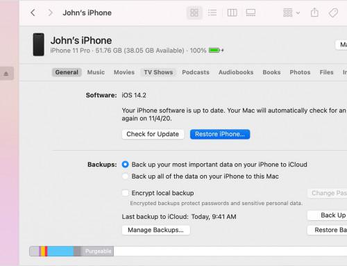 Restaurer un iPhone : le guide ULTIME !