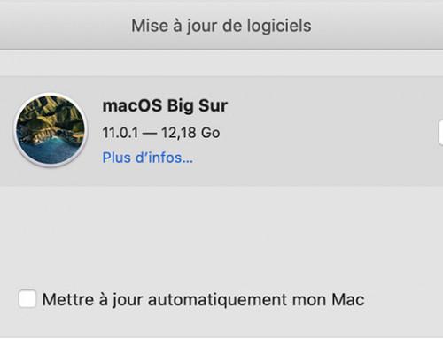 Faut il mettre son Mac à jour ? Est ce que ça ralentit ?