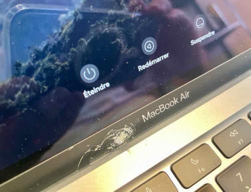 Barre d'écran cassée sur macbook pro ou Macbook Air ? Oui ça se change !